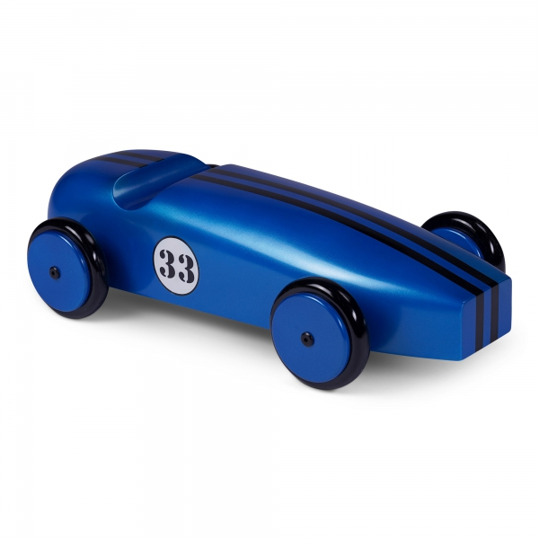 Wood Car Model, Blue - AR063