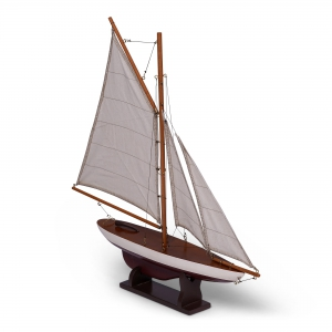 Mini Pond Yacht, Red - AS057RD