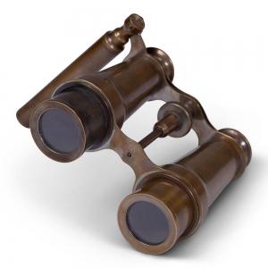 """Opera Binocular Brass 3"""" - KA034B"""