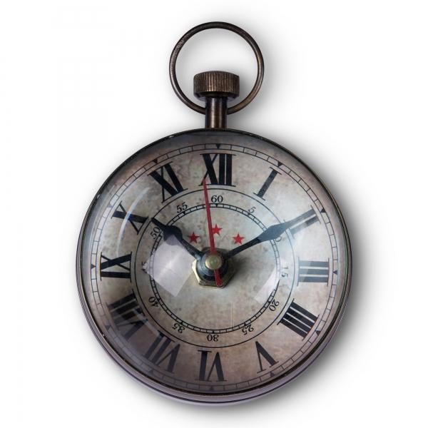 Eye of Time Clock, Brass - SC063B