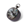 Eye of Time Clock XL, Brass - SC064B
