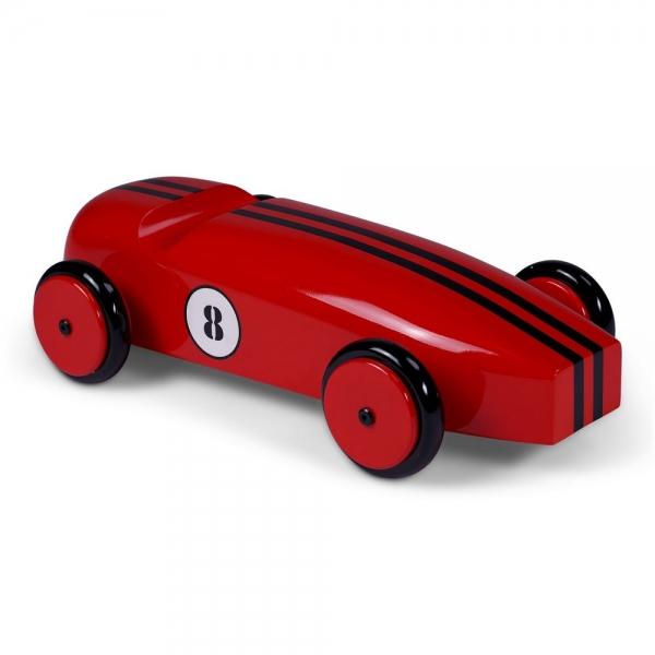 Wood Car Model, Red - AR065